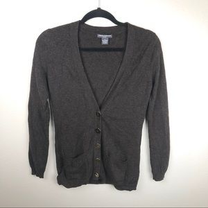 100% Cashmere Chelsea and Theodore cardigan